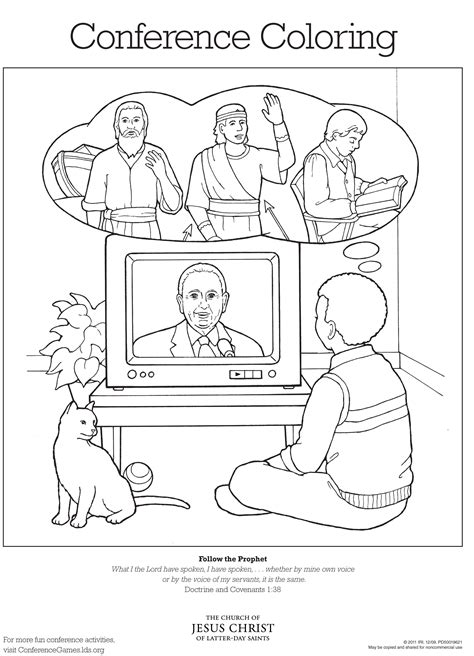 conference coloring pages lds conference coloring page lds lesson ideas