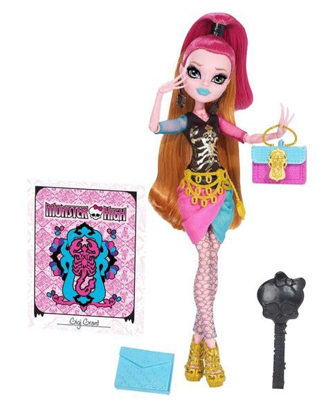 monster high doll design games amazon com monster high new scaremester gigi grant doll