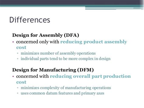 design for manufacturing definition dfma design for manufacturing and assembly