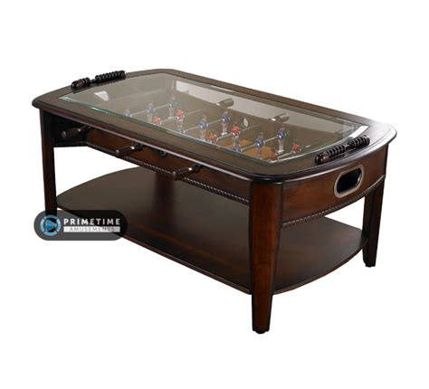 Mini Foosball Coffee Table Signature Foosball Coffee Table Primetime Amusements