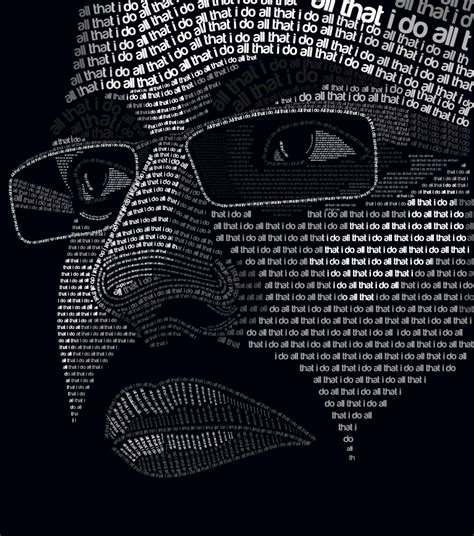 typography portrait tutorial photoshop cs5 self portrait extreme typography by allthatido on deviantart