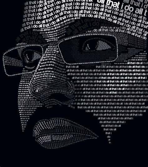 typography self portrait self portrait typography by allthatido on deviantart