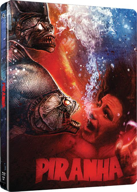 Exclusive Limited Editions At 20ltd by Piranha Zavvi Exclusive Limited Edition Steelbook