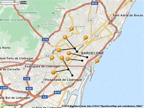 barcelona best attractions 25 best ideas about barcelona tourist attractions on
