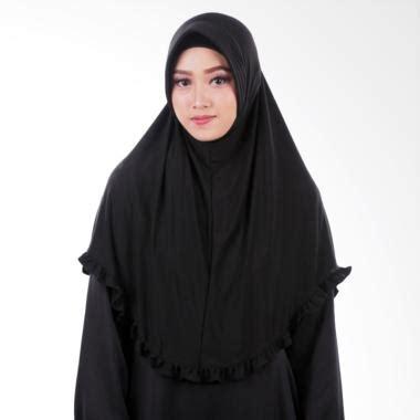Jilbab Instan Olahraga jual atteena aulia hayfa jilbab instan black harga kualitas terjamin blibli