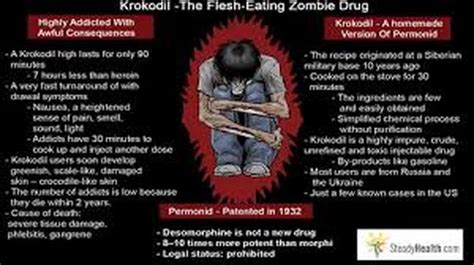 What Is The Most Dangerous To Detox From by Interesting Facts Krokodil