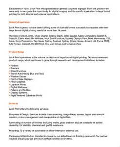 security company profile template sle company profile 7 documents in word pdf
