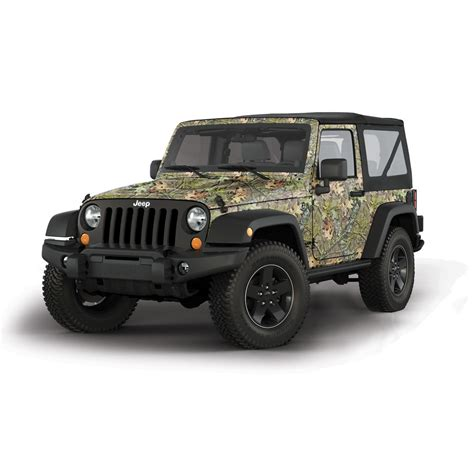 camo jeep mossy oak camo vinyl wrap 2 door jeep obsession ebay