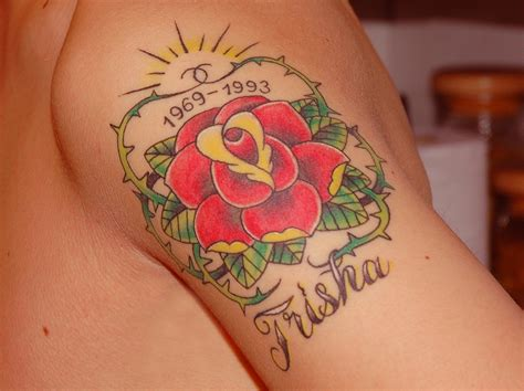 rose rip tattoo designs rip tattoosteulugar