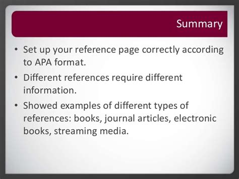 roseman library apa citation reference page