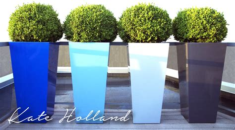 Custom Metal Planters by A Custom Metal Planters And Accessories Made In Canada