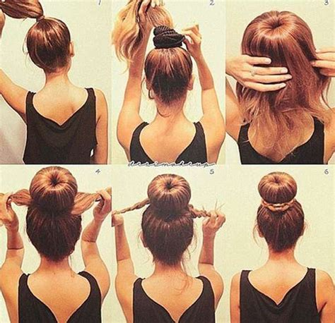 different hairstyle with a bun maker different and easy hairstyles of 2014
