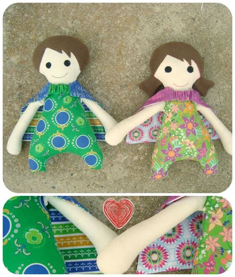Patchwork Dolls Patterns - dolls and shuffle quilt pattern