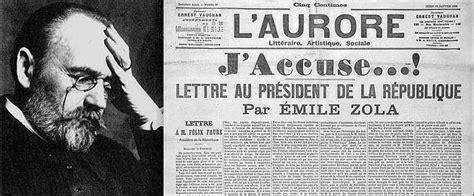 Resume J Accuse Zola by La Prof De Fle Coin Examens 201 Mile Zola