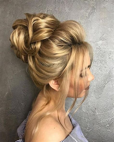 Bun Hairstyles For Hair by Beautiful Wedding Hair Bun Beautiful Bridal Hairstyles