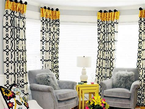 black grey and yellow living room transitional living space photos hgtv