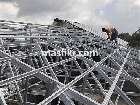 Baja Ringan Jogja untuk Konstruksi Rangka Atap dan Kanopi
