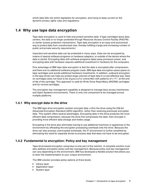 encryption policy template ibm system storage open systems encryption solutions