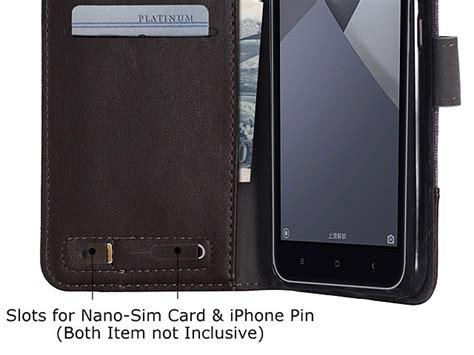 Canvas Xiaomi Redmi Note 4 Flip Cover Denim Wallet Flip Casing xiaomi redmi y1 note 5a canvas leather flip card