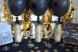 Decorating Ideas New Years A Golden Year New Years 2015 Diy Decor From Scratch