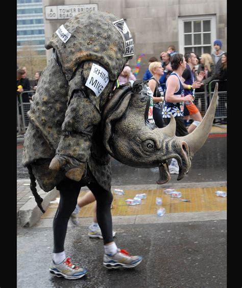 Save The Rhino Pictures save the rhino best dressed marathon runners