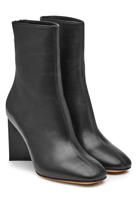 Maison Margiela Ankle Boots maison margiela leather ankle boots in black save 19 lyst