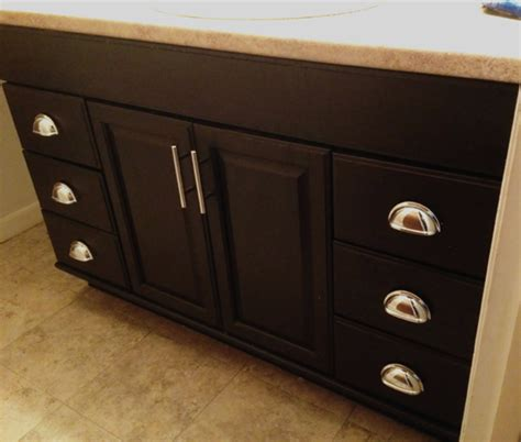 How To Finish Kitchen Cabinets Stain Staining Oak Cabinets An Espresso Finish Faq S Wants It