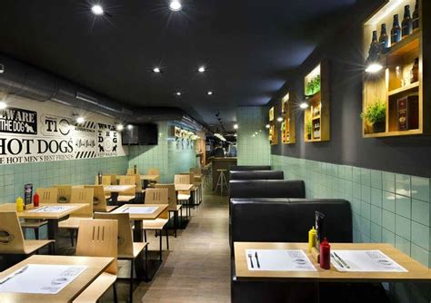 interior design frankfurt frankfurt station fast food restaurant by egue y seta