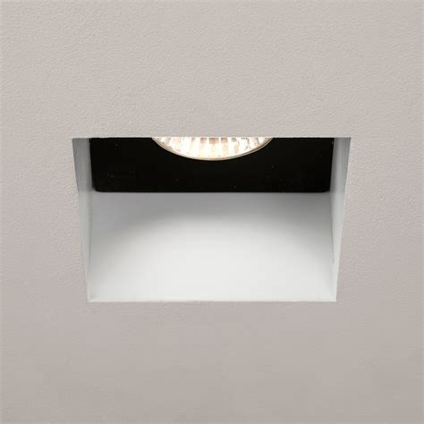 bathroom gu10 downlights astro trimless square gu10 white bathroom downlight at uk