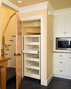 Kitchen Pantry On Wheels by Stairs Pantry On Closet Stairs