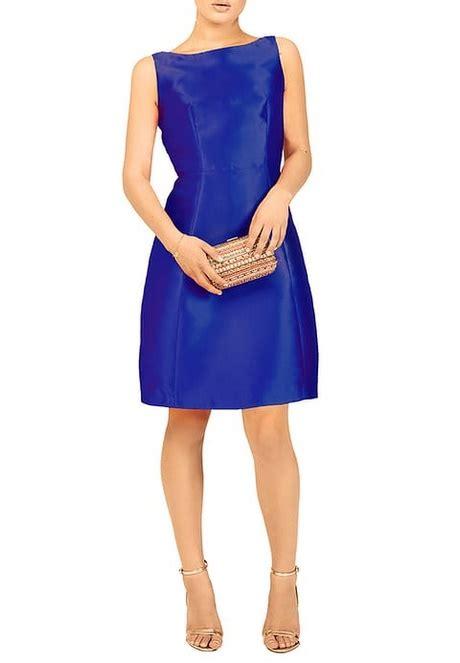 zalando swing kleid blau festliches kleid blau