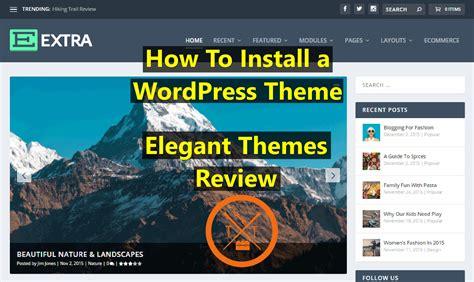 xenon wordpress theme review elegant themes review install best wordpress theme