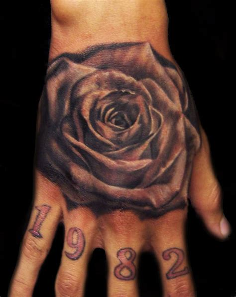 rose black and white tattoos 50 mind blowing black and white tattoos