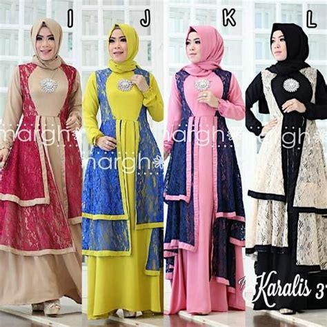 Setelan Channel Casual Celana gamis pesta fashion butiq laman 2