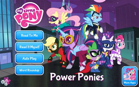 amazon com my little pony power ponies appstore for android