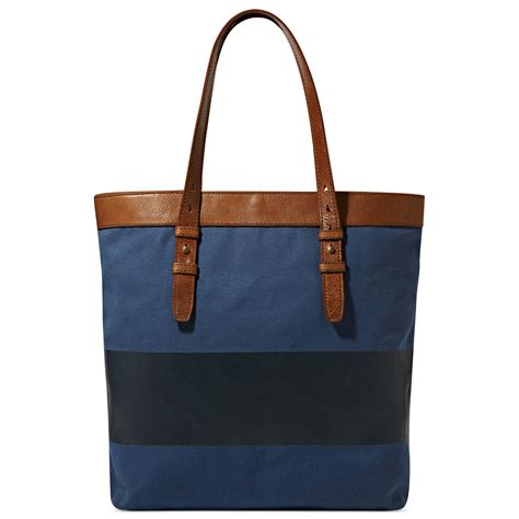 Fossil Kendall Teal Green Canvass Satchel fossil utility canvas bag in blue for lyst