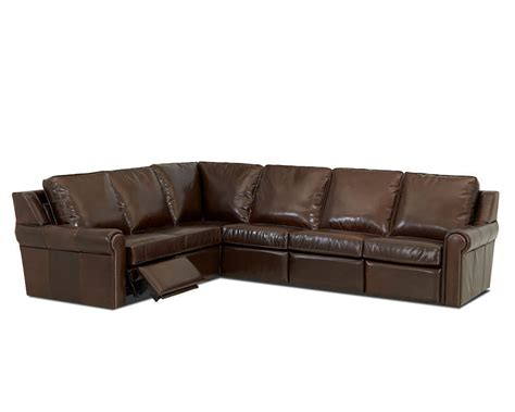 Leather Sectional Power Recliner by Comfort Design West Ii Power Reclining Sectional