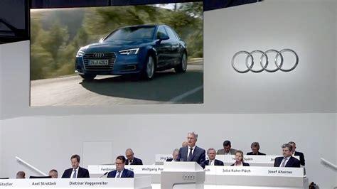 Audi Hauptversammlung by Hauptversammlung Der Audi Ag 2017 Audi Annual General