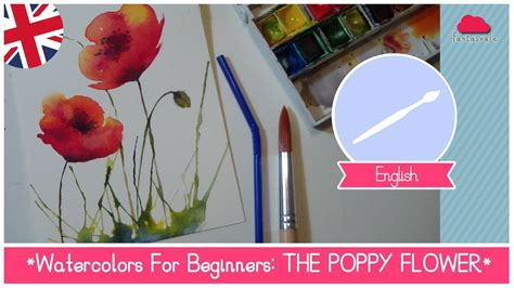painting for watercolors for beginners how to paint poppy flowers