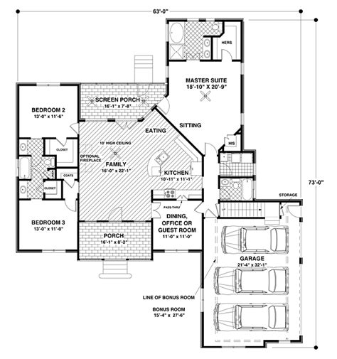 Home Plans House Plan 92385 At Familyhomeplans
