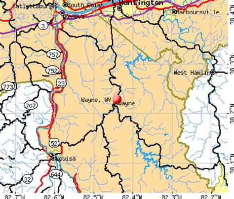 wayne, west virginia (wv 25570) profile: population, maps