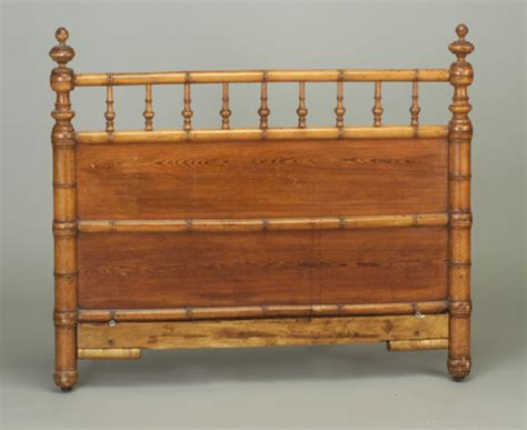 victorian faux bamboo headboard 3 4 size with tu 2326745