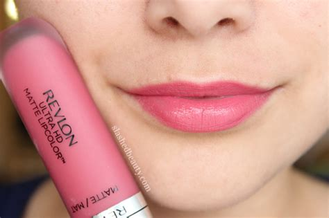 Revlon Lip Matte revlon ultra hd matte lipcolor review swatches slashed
