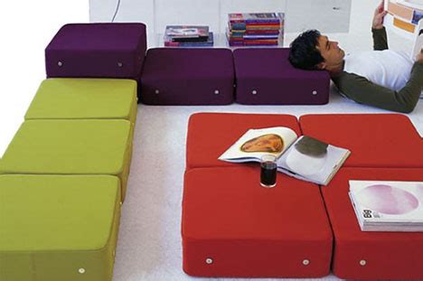 Floor Furnishing by Create Furniture From Building Block Floor Cushions