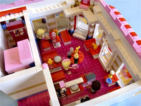 Stylish House by More Details About That Charming Lego Friends Lovely Hotel