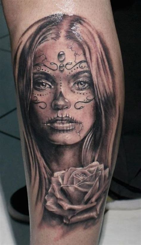 day of the dead girl tattoos 166 best day of the dead tattoos