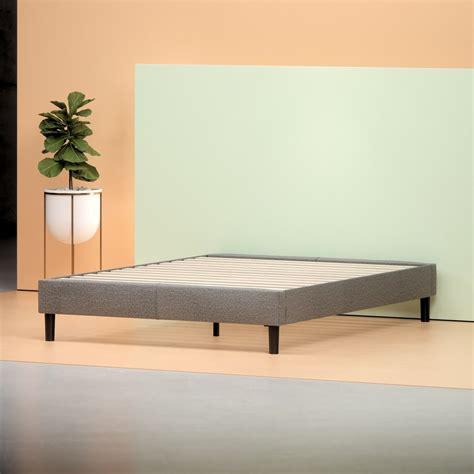 upholstered platform bed frame zinus