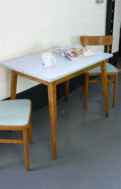 1960 Kitchen Table 1960s Vintage Kitchen Table And Two Chairs Sold