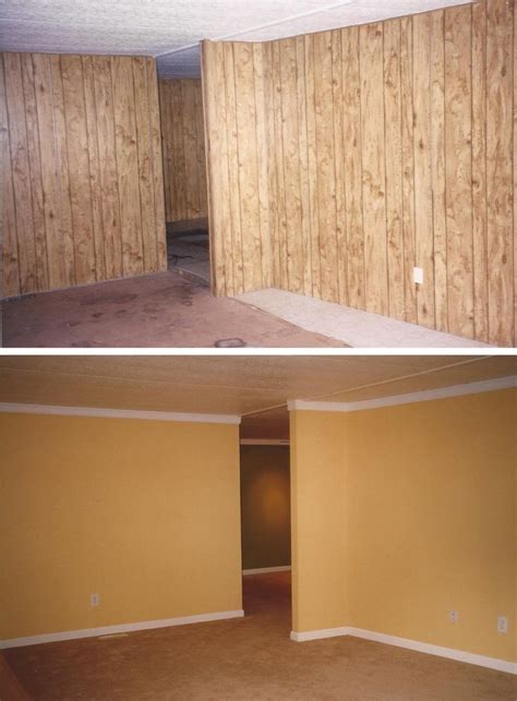 updating wood paneling update wood panels don t remove replace ask me how