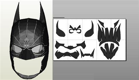 foamcraft pdo file template for batman arkham origins mask